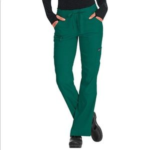Koi Hunter Green scrubs